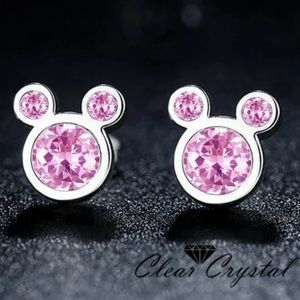 Jewelry - Brand New Mickey Mouse Pink Earrings
